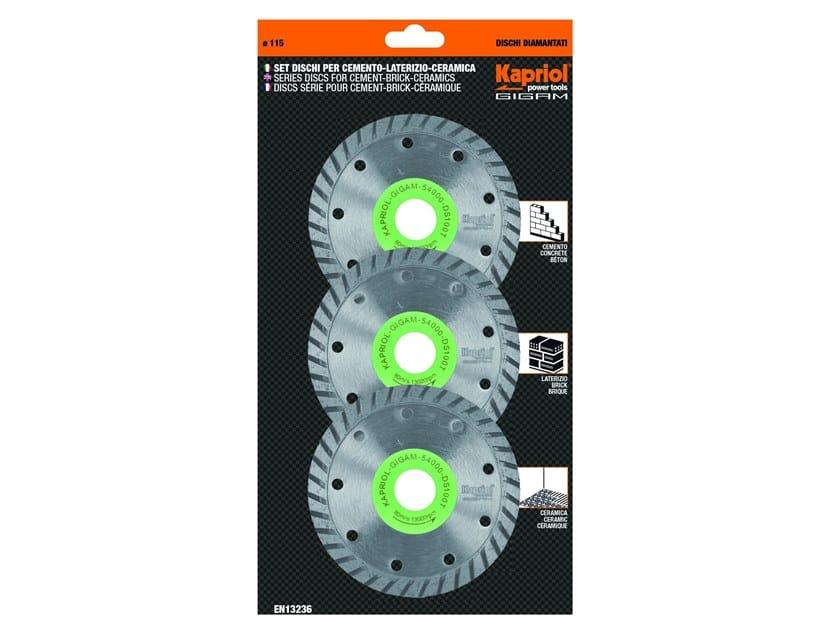 Discs DS 100 T 3 PCS by KAPRIOL