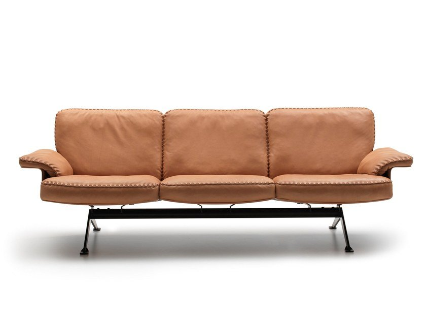 Sectional 3 seater leather sofa DS-31 | Sofa by de Sede