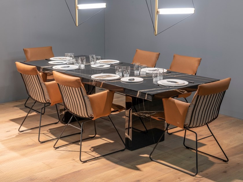 Rectangular dining table DS-788 | Table by de Sede
