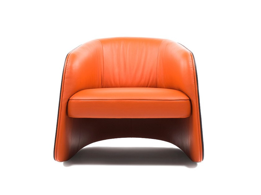 Rocking leather armchair with armrests DS-900 by de Sede