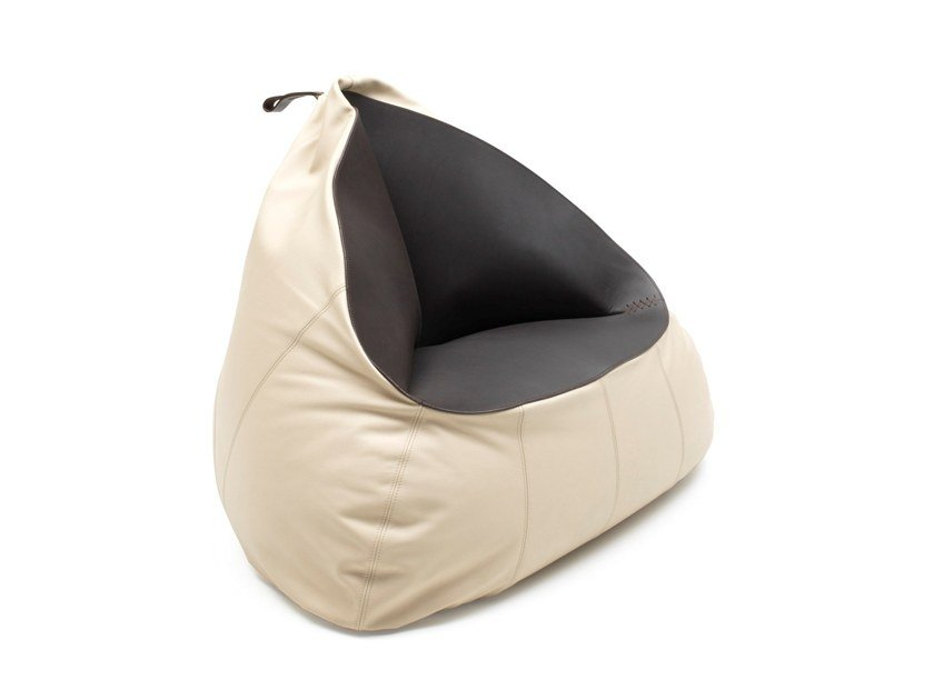 Leather bean bag DS-9090 | Bean bag by de Sede