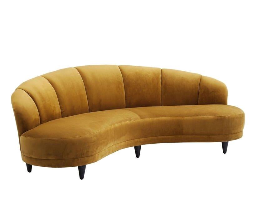 3 seater fabric sofa DSCHINN | 3 seater sofa by KARE-DESIGN