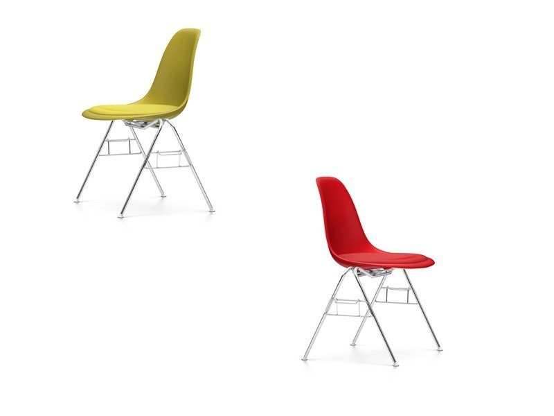 Stackable polypropylene training chair DSS | Stackable training chair by Vitra