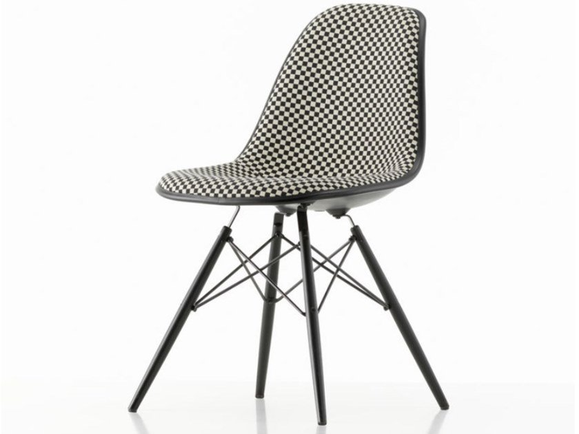 Upholstered fabric chair DSW | Upholstered chair by Vitra