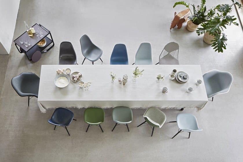 Dsw Sedia Imbottita Collezione Eames Plastic Chair By Vitra