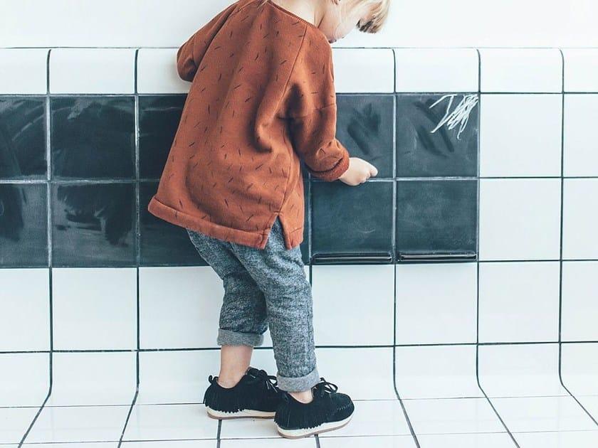 Ceramic wall tiles / dry erase board DTILE | Blackboard by DTILE