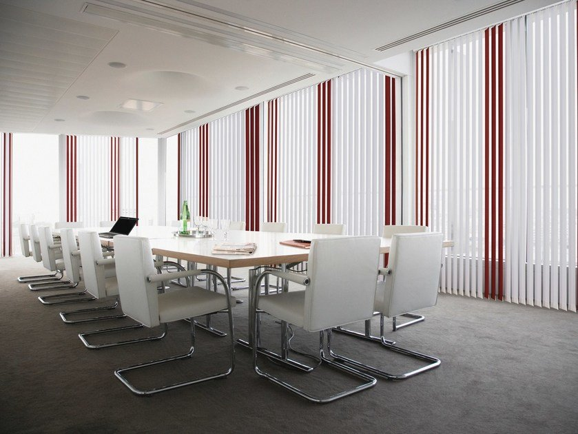 Vertical blinds headrail DUAL 359 by Mottura