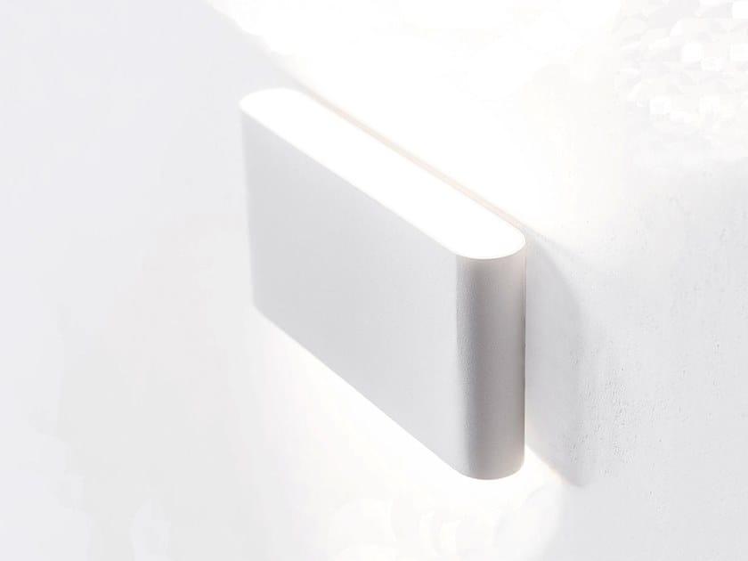 Applique per esterno a LED a luce diretta e indiretta DUAL by HER
