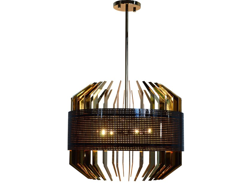 Brass pendant lamp DUBAI | Pendant lamp by Creativemary