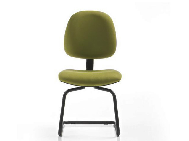 Cantilever fabric task chair DUBLINO   Cantilever task chair by Diemme