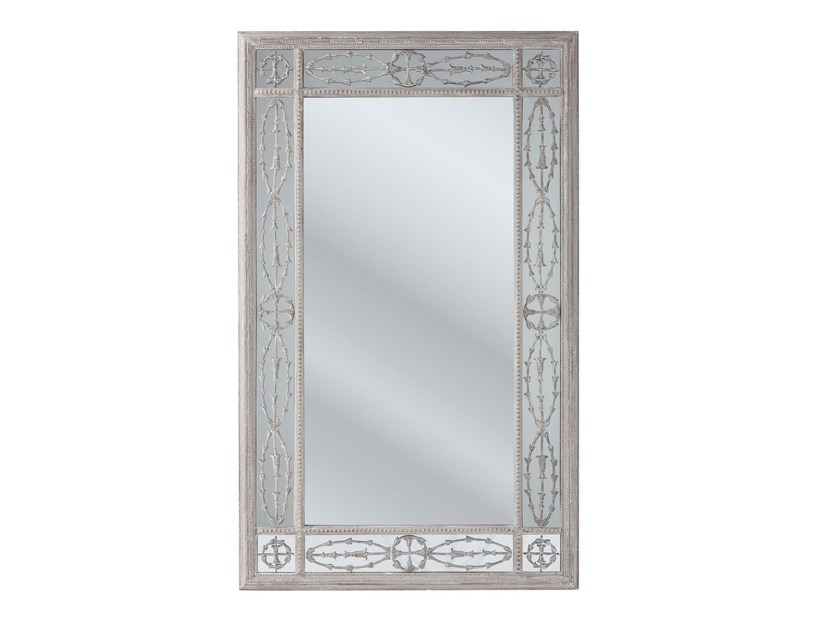 Contemporary style wall-mounted rectangular mirror DUCHESS by KARE-DESIGN