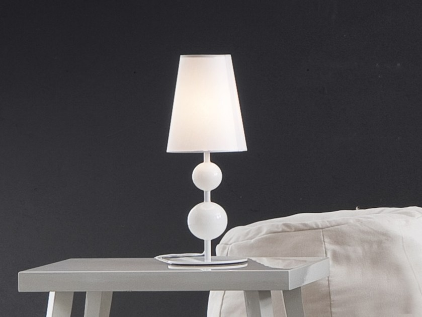 Direct-indirect light table lamp DUCHESSA by Chaarme
