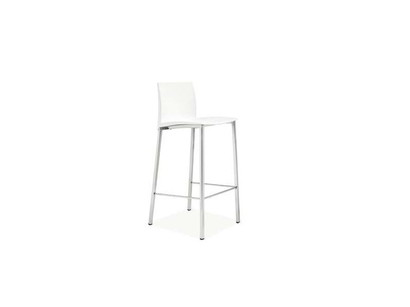 Expanded polyurethane chair with footrest DUER by CREO Kitchens