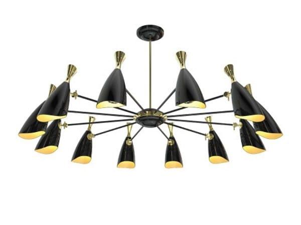 Ceiling lamp DUKE ROUND   Ceiling lamp by Delightfull