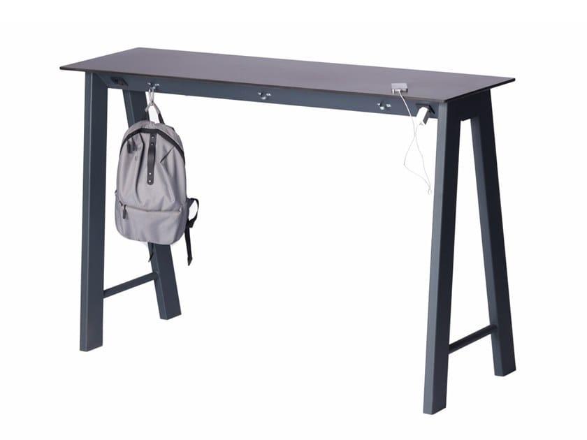 Rectangular metal high table DUMOBAR   High table by Punto Design