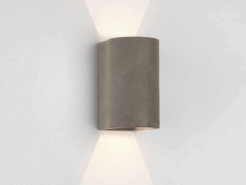Lampada da parete per esterno a LED in cemento DUNBAR 160 CONCRETE by Astro Lighting