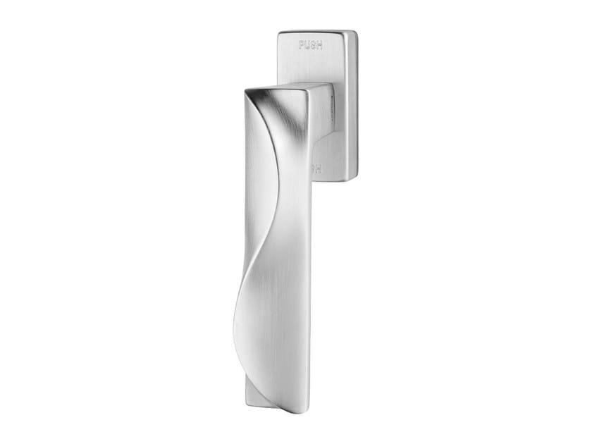 Contemporary style anti-intrusion DK brass window handle DUNE | Anti-intrusion window handle by LINEA CALI'