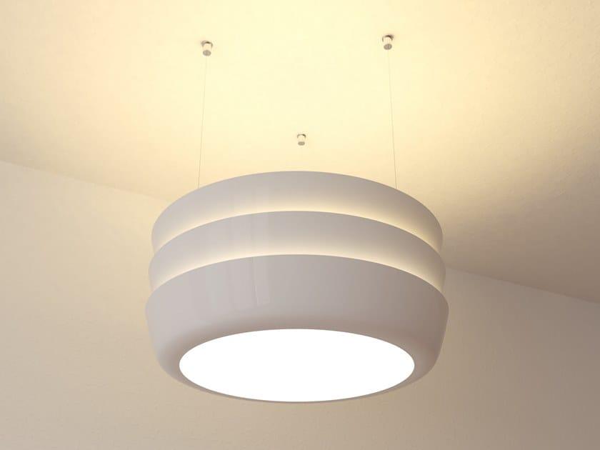 Lampada a sospensione a LED in PMMA DUNE | Lampada a sospensione by Makris