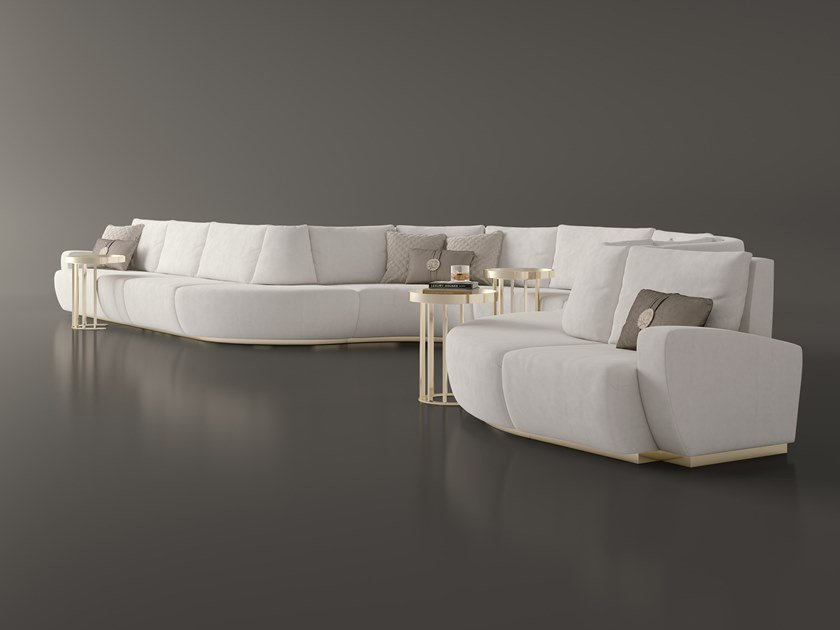 Merveilleux Sectional Curved Sofa DUNE | Sectional Sofa By Bizzotto