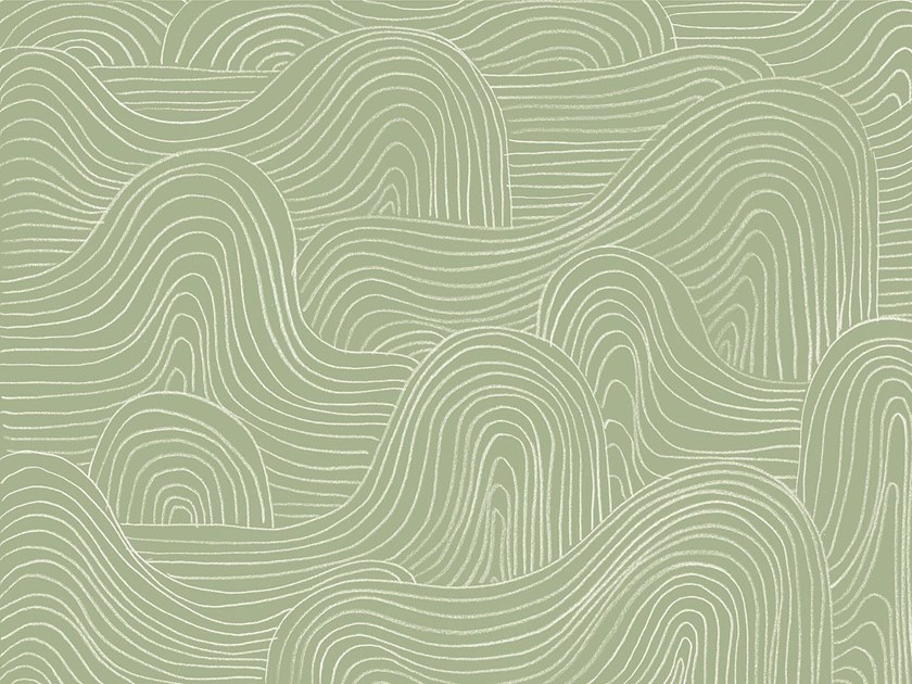 Oriental wallpaper, PVC free, eco, washable DUNE by Wallpepper