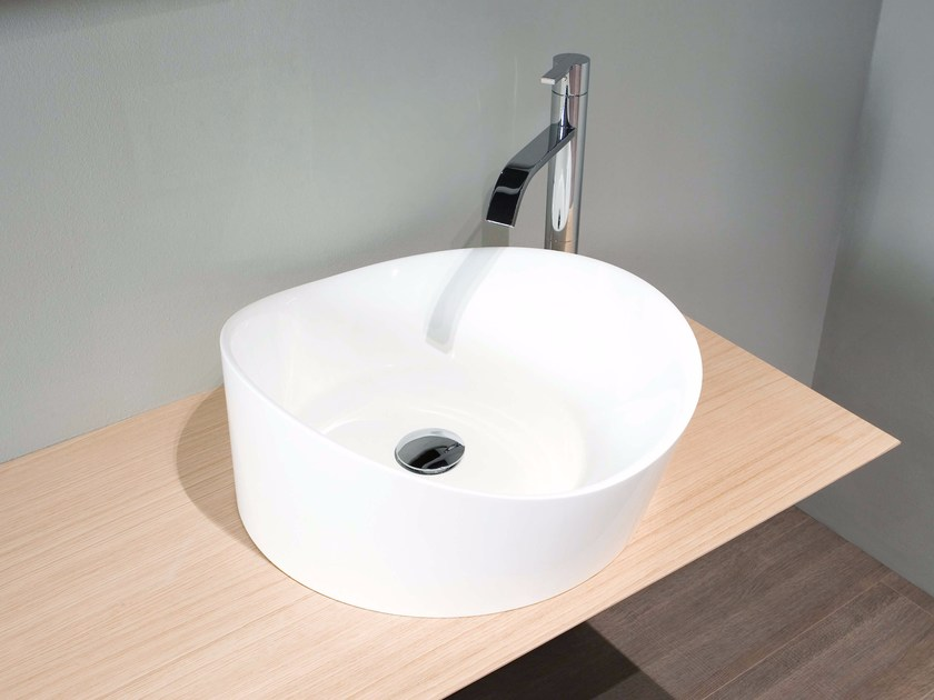 Countertop Ceramilux® washbasin DUNE | Washbasin by Antonio Lupi Design