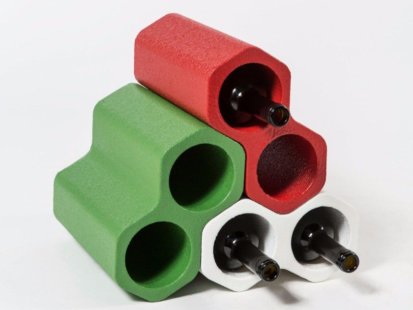 Poly Mass® bottle rack DUO by Be Different