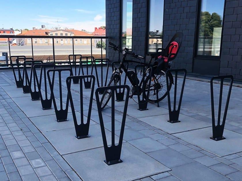 Steel Bicycle rack DUO by Nola Industrier