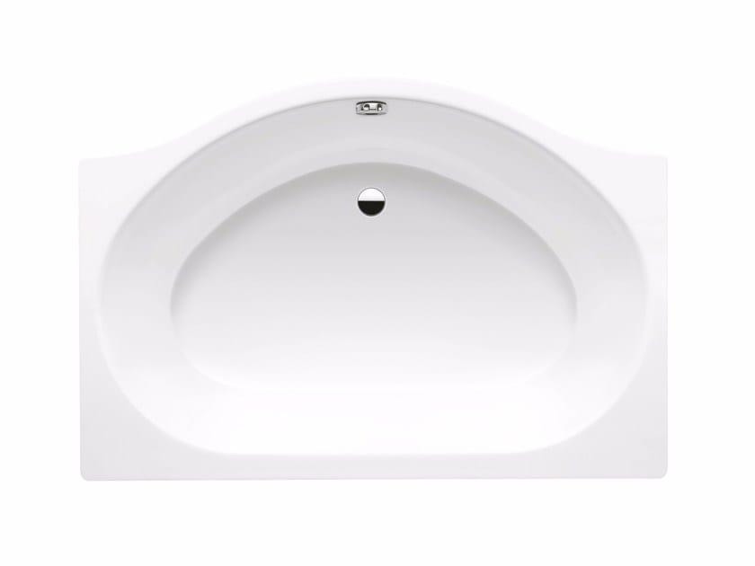 Built-in enamelled steel bathtub DUO POOL by Kaldewei Italia
