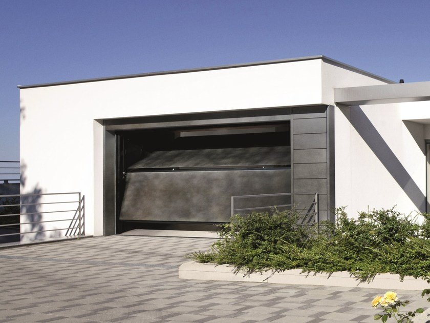 Sectional garage door SECURLAP - DUO by SILVELOX