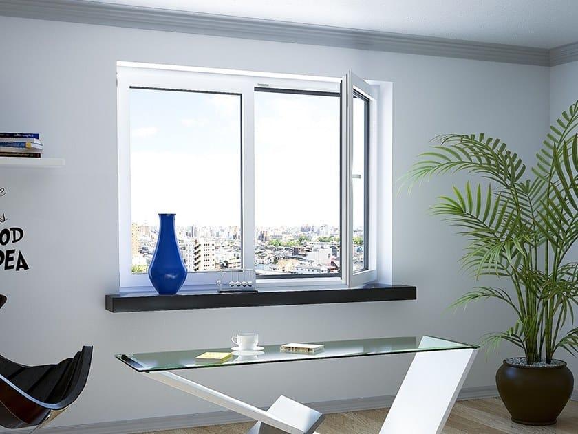 Wood- aluminium window DUOLINE | Window by Drutex