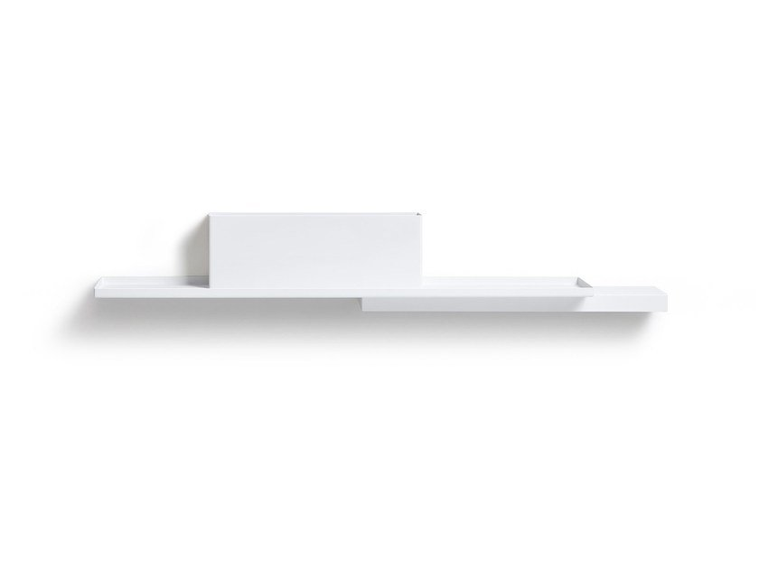 Steel wall shelf DUPLEX by Puik