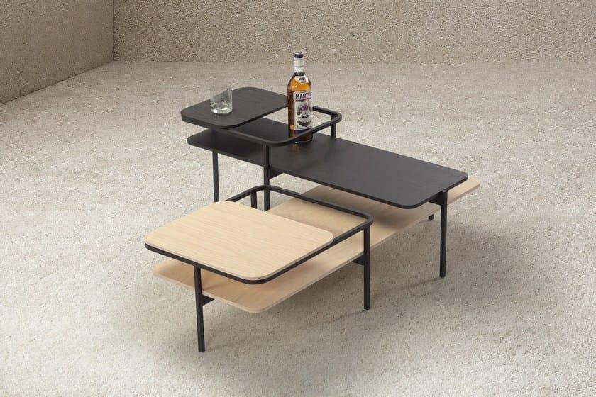 Elementenbank Van Sancal : Wooden side table duplex by sancal design mut design