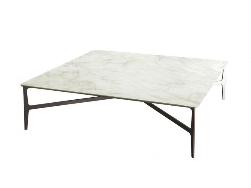 Low Square Marble Coffee Table DuprÈ By Casamilano