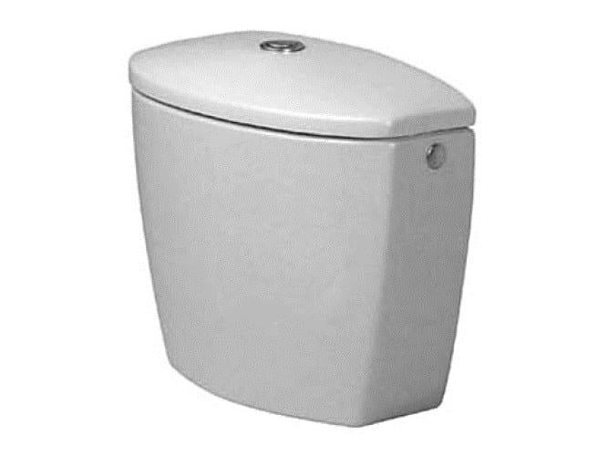 External ceramic WC cistern DURAPLUS | WC cistern by Duravit