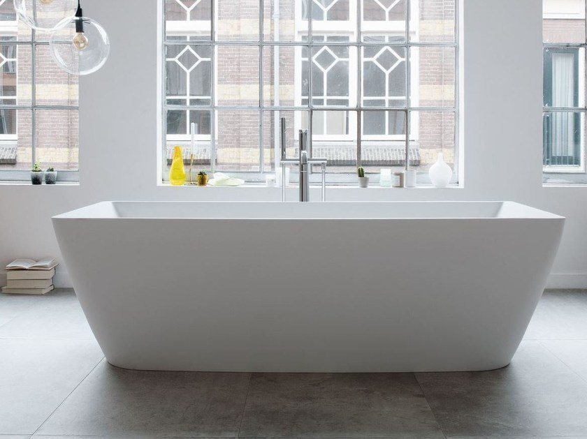 Freestanding Bathtub DURASQUARE | Bathtub By Duravit
