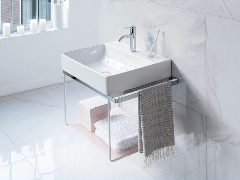Console rectangular washbasin DURASQUARE | Console washbasin by Duravit