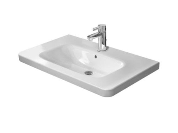 Console ceramic washbasin DURASTYLE | Console washbasin by Duravit