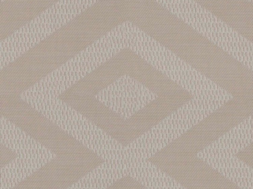 Jacquard washable fabric with graphic pattern DURHAM by KOHRO