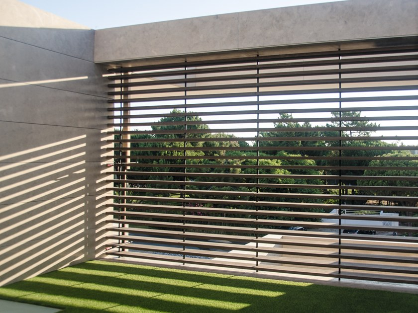Solar shading profile DURO BLADES by iDecking Revolution