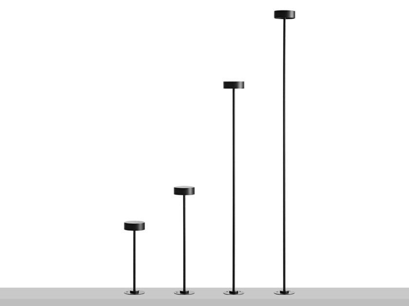 Paletto luminoso a LED in metallo DUSK by Flexalighting