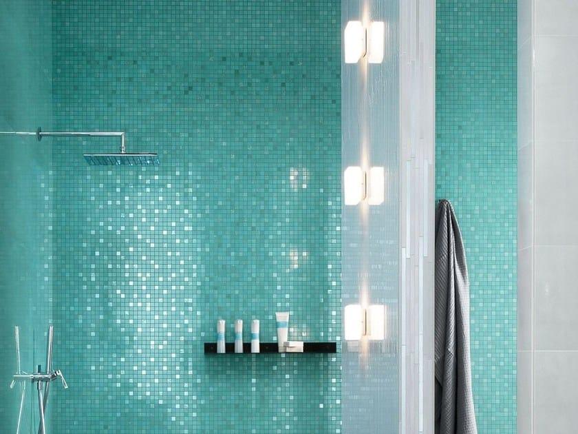 Arredo Bagno Mosaico Verde Acqua : I colori del mare nel bagno archiproducts