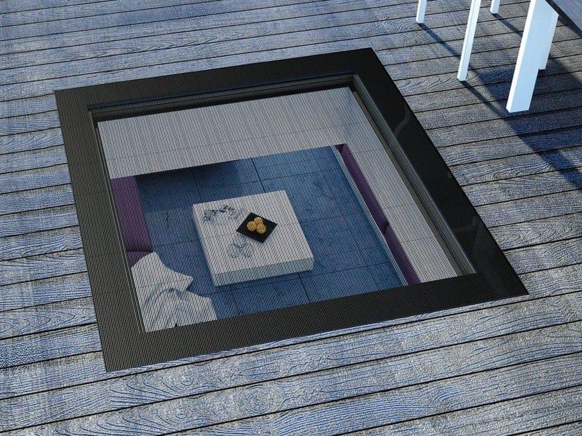 Walkable PVC roof window DXW by FAKRO