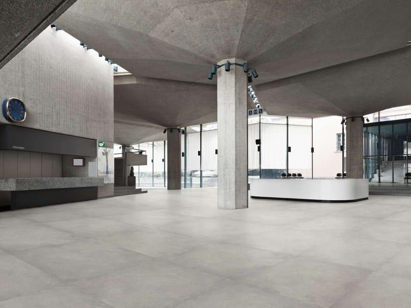 Indooroutdoor Wallfloor Tiles With Concrete Effect Dylan By Peronda