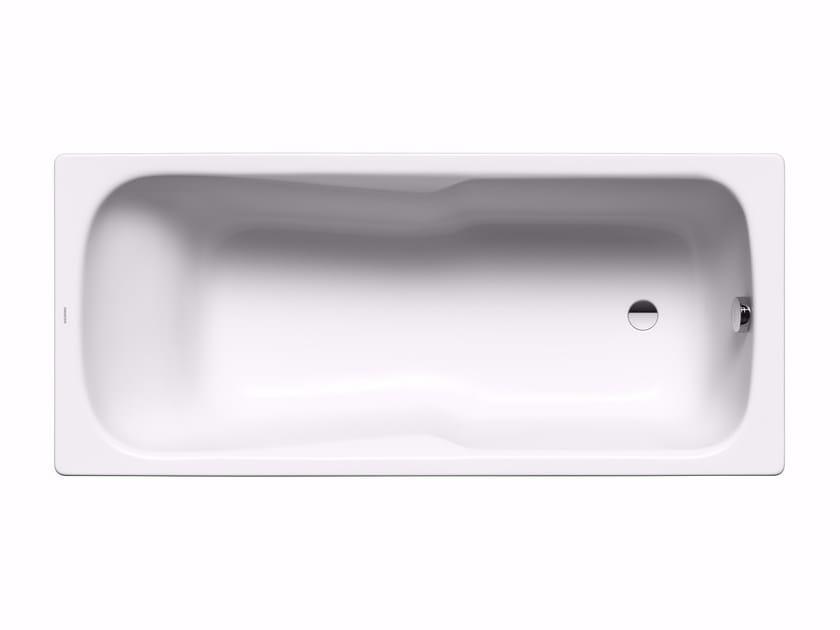Built-in rectangular steel bathtub DYNA SET by Kaldewei Italia