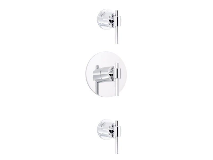 3 hole thermostatic shower mixer DYNAMIC | 3 hole thermostatic shower mixer by rvb
