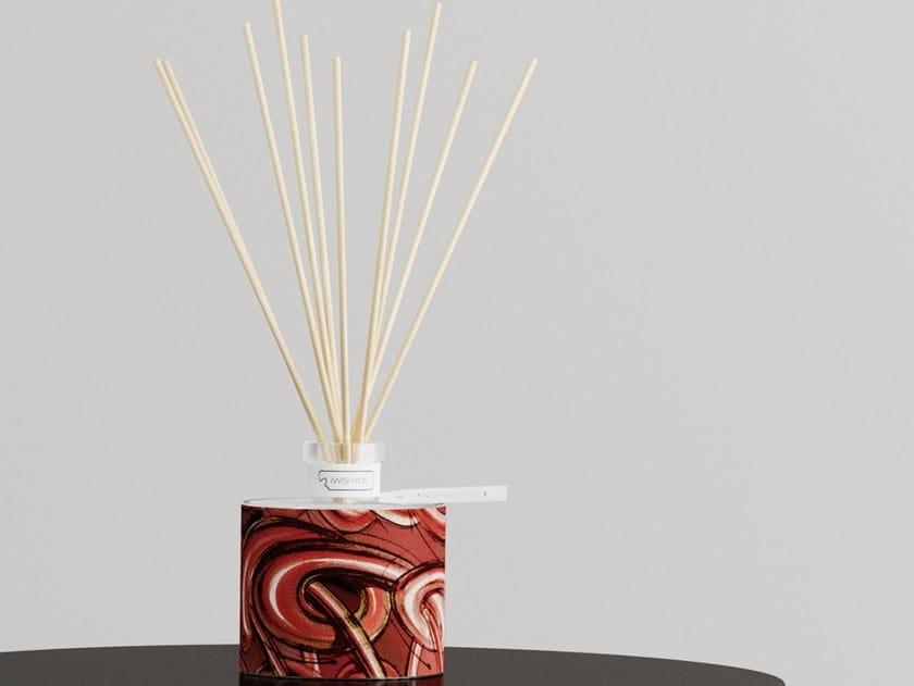 Natural stone Air freshener dispenser DYNAMIC SCENT Prestige - Melograno by IWISHYOU
