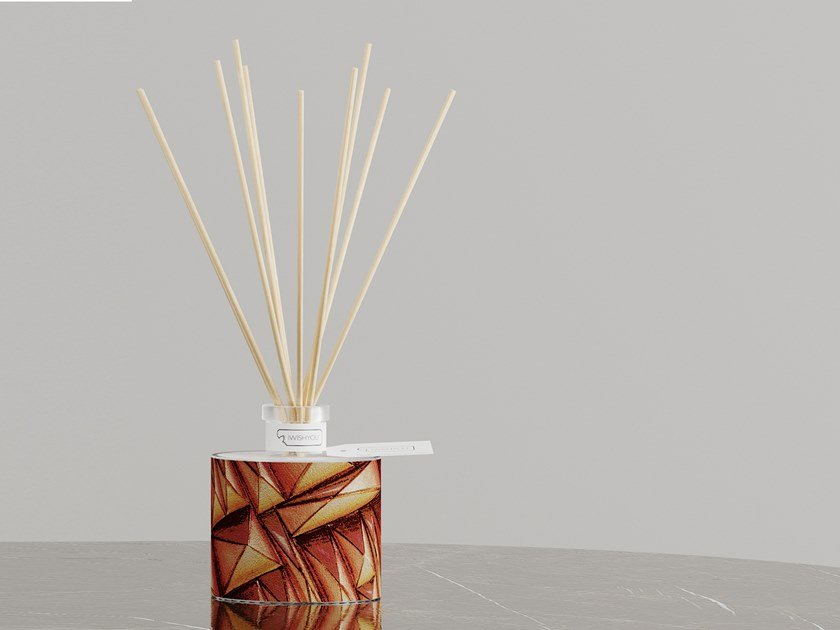 Natural stone Air freshener dispenser DYNAMIC SCENT   Prestige Tabacco e Agrum by IWISHYOU