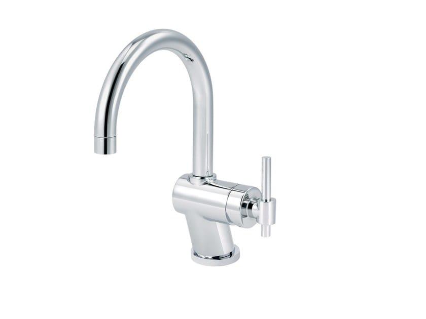Countertop single handle washbasin mixer DYNAMIC | Washbasin mixer by rvb