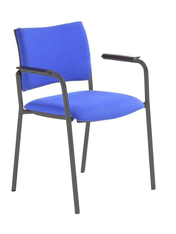 DYNAMICA | Sedia con braccioli DYNAMICA Sedia con braccioli - Sedia a 4 gambe impilabile con braccioli