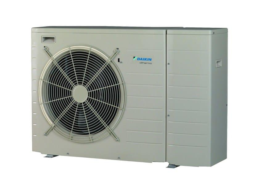 Air to water Heat pump Daikin Altherma EBLQ-CV by DAIKIN Heating Systems